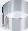 Ghidini Adjustable Stainless Steel Cake Ring