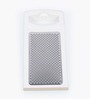 Ghidini White Stainless Steel and Plastic Cheese Grater
