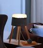 Glowbox Grey Concrete & Resin  Table Lamp