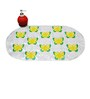 Go Hooked anti Skid Mat- Green And Yellow Butterfly