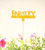 Green Gardenia GI metal Plant poker-PARSLEY-Yellow