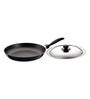 Hawkins Futura Non-Stick Hard Anodized Frying Pan with Steel Lid