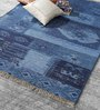 Tasarika Carpet in Blue by Mudramark