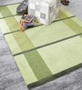 Molina Carpet in Green by CasaCraft