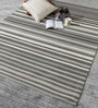 Iganzio Area Rug in Grey and Ivory by CasaCraft