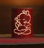 Height of Designs Pink & White Iron Ganesha Night Light