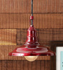 Height of Designs Red 40 watts LED Pendant