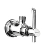 Hindware Chrome Brass Angular Stop Cock (Model: F110004CP)