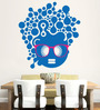 Hoopoe Decor Vinyl Fashion Girl In A Stylish Look Wall Sticker