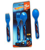 Hot Wheels Spoon & Fork (BPA Free) by Only Kidz (Set of 2)