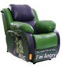 Hulk The Big Guy Leatherette Recliner by Orka