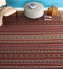Imperial Knots Multicolour Wool 48 x 72 Inch Carpet