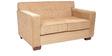 Indus Sofa Set 2+1+1 in Honey Brown Color by Arra