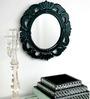 Bissoni Decorative Mirror in Black by Amberville