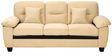 Iris Three Seater Sofa in Light Brown Colour by Royal Oak