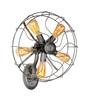 Jainsons Emporio Grey Steel Vintage Fan Wall Mounted Light
