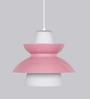 Jainsons Emporio Doo-Wop Pink Aluminium Pendant Lamp