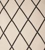 Jaipur Rugs Floral White & Ebony Wool 60 x 96 Inch Area Rug
