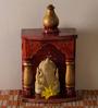 JaipurCrafts White Stoneware Premium Lord Ganesha Showpiece