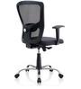 Jazz Ergonomic Chair in Black Colour by Oblique