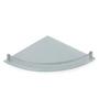 Neo Bathroom Shelf in Transparent by CasaCraft
