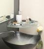 Paquita Bathroom Shelf in Transparent by CasaCraft