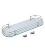 Rico Bathroom Shelf in Transparent by CasaCraft