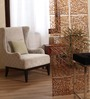 Tynisha Screen Divider in Brown by Bohemiana