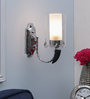 Jumilla Wall Light in White by CasaCraft