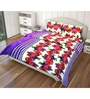 Just Linen Multicolour Fabric Queen Size Comforter