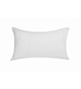 Just Linen White Cotton 21 x 31 Pillow Cover