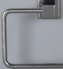 Jwell Silver Stainless Steel 6.3 x 4.7 x 2 Inch Toilet Tissue Paper Roll Holder
