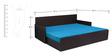 Kaiden Slider Sofa cum Bed in Sky Blue Colour by Auspicious Home