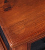 Kalaya Handcrafted Coffee Table with Storage in Honey Oak Finish by Mudramark