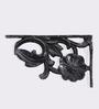 Karara Mujassme Black Cast Aluminium Victorian Style Shelf Bracket