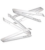 King International Stainless Steel Ice Tong - Set of 4