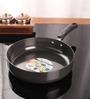 Kitchen Essentials Aluminium 8 Inch Hard Anodised Deep Fry Pan