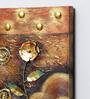 Kokoon Canvas 15.5 x 1.5 x 23.5 Inch Oil & Metal Work Wall Painting