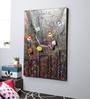 Kokoon Canvas 31 x 1.5 x 47 Inch Oil & Metal Work Wall Painting