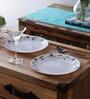 La Opala Elegant Opalware Plate - Set of 6