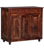Norfolk Cabinet in Provincial Teak Finish by Woodsworth
