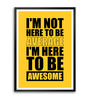 Lab No.4 - The Quotography Department Paper & PU Frame 11.9 x 16.7 Inch Life Paper Framed poster