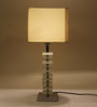 Lalco Interiors White Hand Made Paper Table Lamp