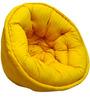 ORGANIC COTTON Lap Pouffe in Yellow Colour by Reme