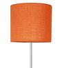 Adria Floor Lamp in Orange by CasaCraft