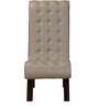 Lawrence Single Seater Sofa in Moon Light Grey Color by Amberville