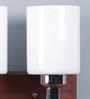 LeArc Designer Lighting Brown Cylindrical Mild Steel Upward Wall Light