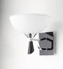 Learc Designer Lighting Cw184 Contemporary Glass Metal Wood Wall Light