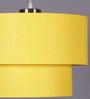 Learc Designer Lighting Yellow Fabric Mixed Pendant
