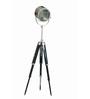 Kelis Tripod Lamp in Silver by Bohemiana